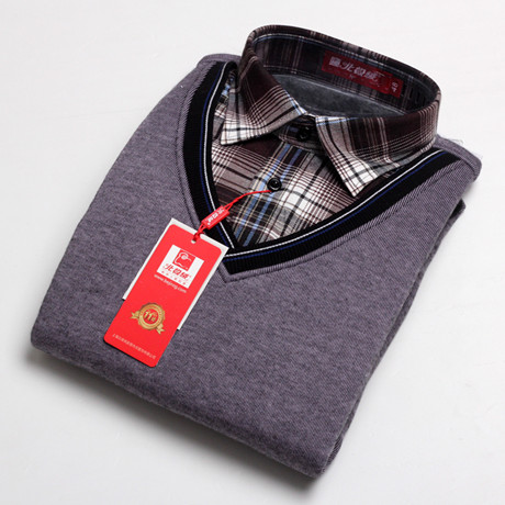 Цвет: Серый/флис тепловой t рубашки