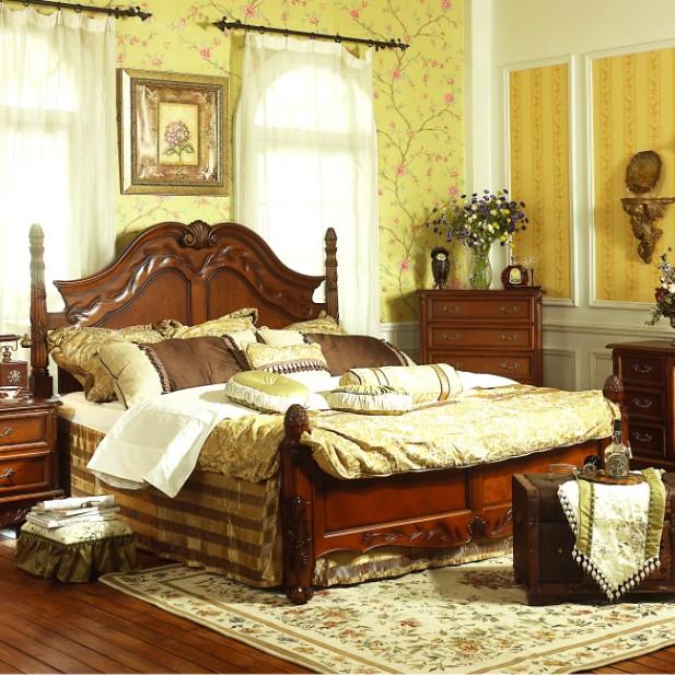 Кровать из массива дерева Margaret williams  1.5 1.8 920130