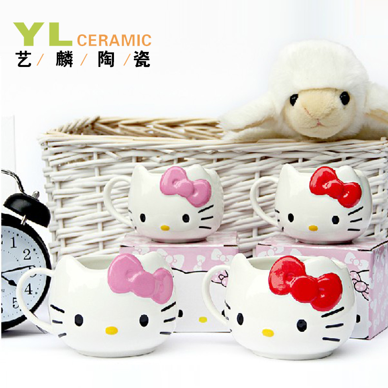 Чаша для молока Yi Lun ceramics kitty00001 Hello Kitty