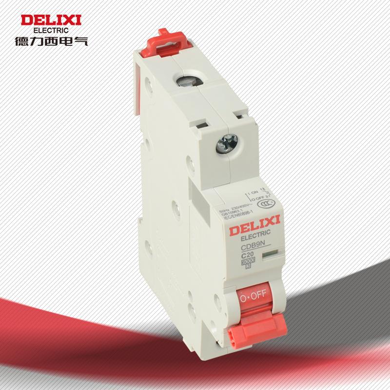 Автоматический выключатель Delixi electric  CDB9N 1P20A