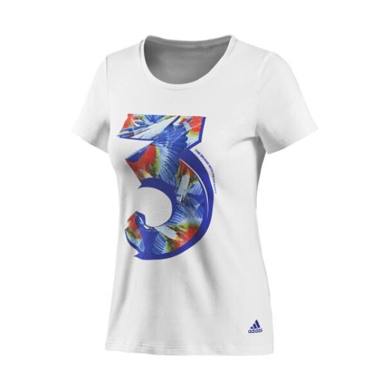 阿迪达斯2014新款女装短T恤HEBE同款F89767/F91808/F50888/F91860