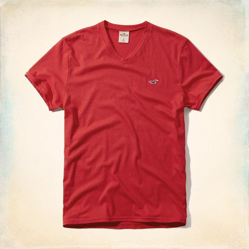 Цвет: Красный v воротник