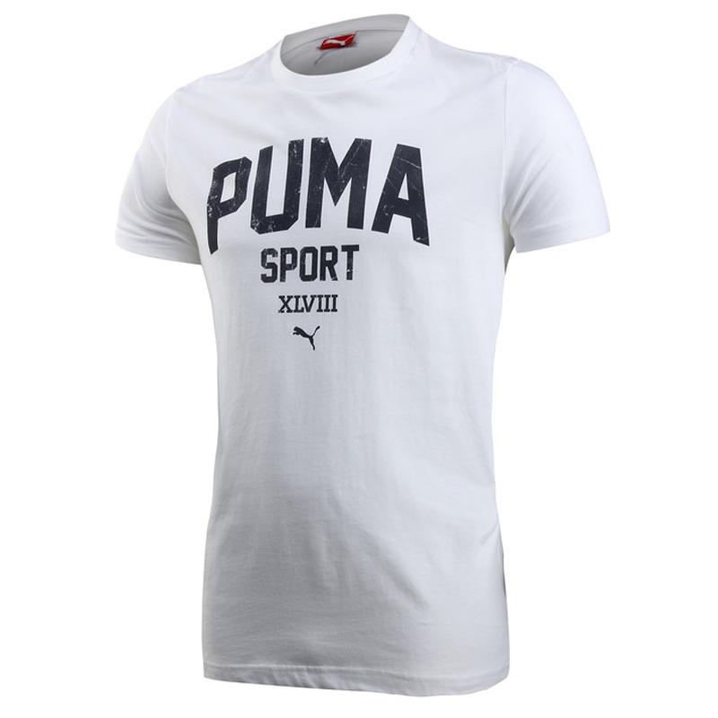 正品Puma彪马2014夏季新款男子运动休闲短袖T恤82979203/82979201