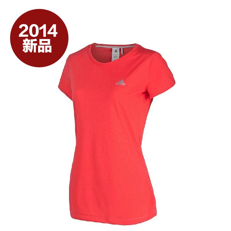 专柜正品阿迪达斯adidas女装运动休闲短袖T恤-Z29703 Z29696