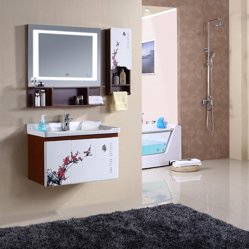 乐派橡木浴室柜组合6605