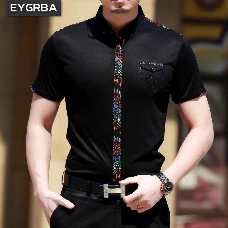 Рубашка мужская Eygrba 8568 2014