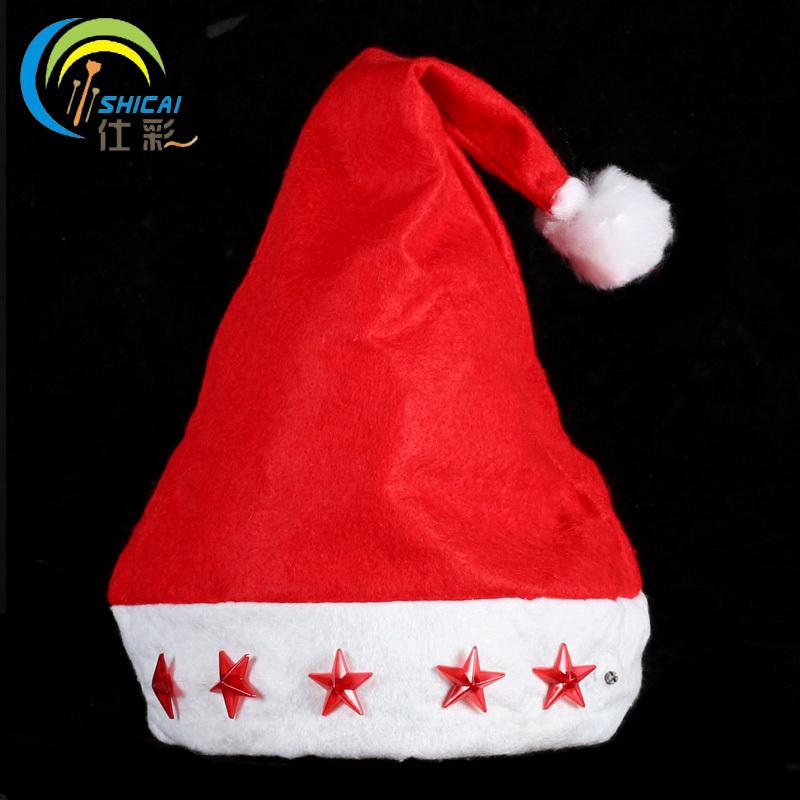 Цвет: Светящийся Рождественский шляпа (пять звезд)