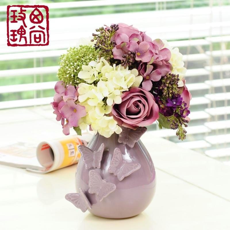 Цветочная ваза West still rose t100435