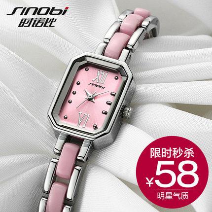 韩国正品手表女防水手链女表潮流学生石英表瑞士女腕表时尚时装表