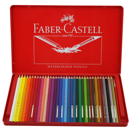 buy faber castell 36 authentic classic color colored pencils faber castell color pencil lead. Black Bedroom Furniture Sets. Home Design Ideas