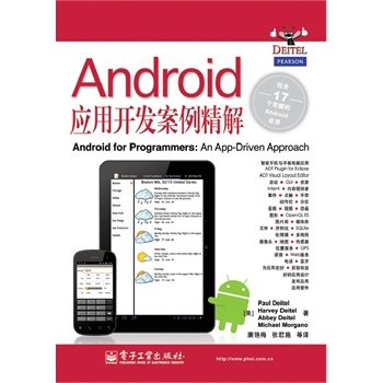 ( Genuine send bookmarks 7247): Android Application Development Case fine solution Paul Deitel (P.