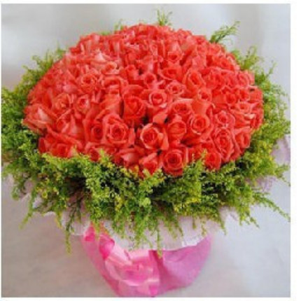 Girlfriend lover anniversary flower delivery xinji Zunhua Qian'an city of Fuzhou florist delivery 99 pink roses