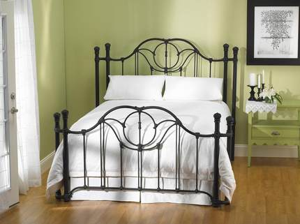 HR- French industrial -style wrought-iron beds , iron beds retro work eight feet , 1.8 m double iron bed 6-N7 shipping
