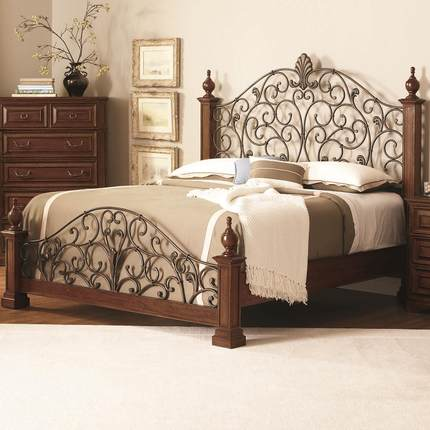 Cheap iron queen size beds find iron queen size beds deals on line at Bed and mattress deals