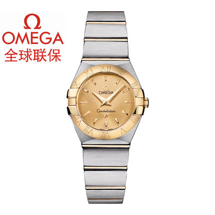 Warranty Omega Omega Constellation ladies watch quartz watch 123.20.24.60.08.001