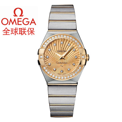 Warranty Omega Omega Constellation ladies watch quartz watch 123.25.27.60.58.001