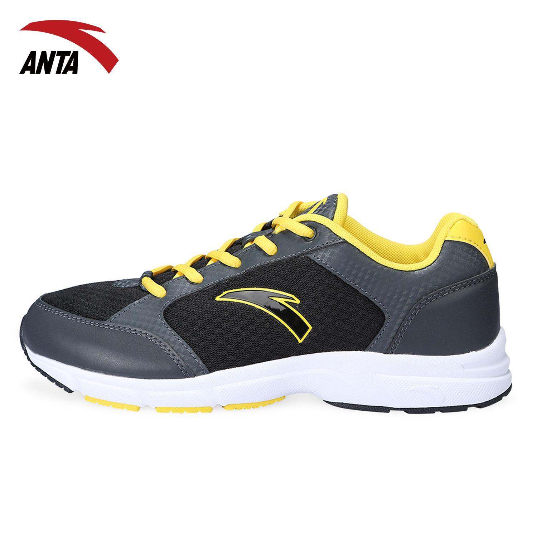 安踏男鞋网鞋夏季新款跑步鞋正品网面透气休闲时尚运动鞋子包邮
