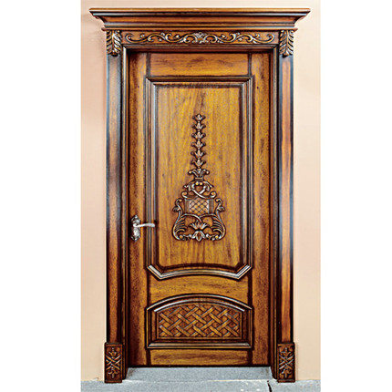 Get Quotations · [ Deep ] Yu Door Industry Bedroom Suite Door Interior Wood  Door Paint Solid Wood Doors