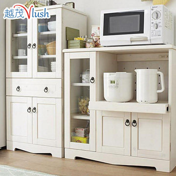 The More Luxuriant Wood Sideboard Cupboard Modern Minimalist White Kitchen Lockers