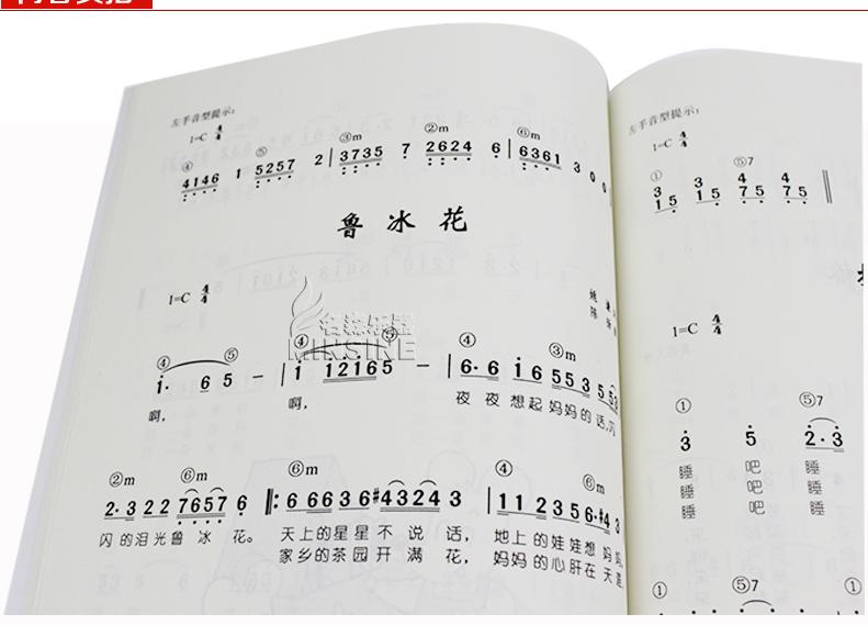 Учебное пособие для игры на клавишных инструментах Магазин подлинной Фортепианный аккомпанемент песни 68 (Новая редакция) нотации Ди Синь вязание учебники