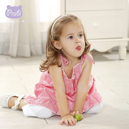 8fc5e9955fde Buy 1-2 years old baby girl summer dress princess dress 0-1 years ...