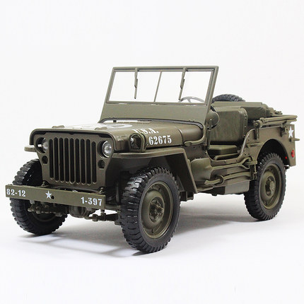 Get Quotations Wwii Jeep Model Willie Willis Suv 1 18 Alloy Car Models