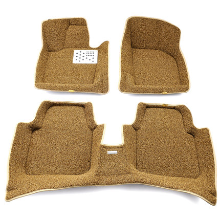 Car mats Audi A6L | Q5 | A3 | A5 | A4L | A4 | A1 | A7 | Q3 dedicated wholly surrounded by wire loop mats