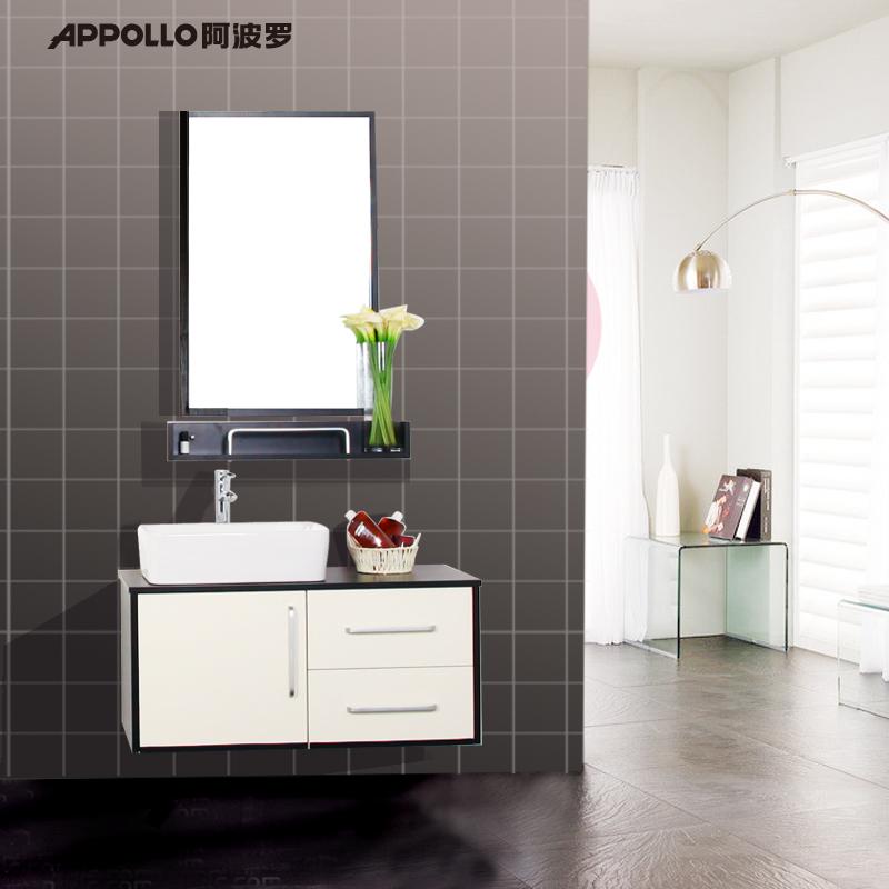 阿波罗实木夹板卫浴柜WAG006