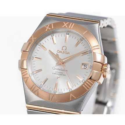 Warranty Omega Omega Constellation Mens Watch 123.20.35.20.02.001 mechanical watches