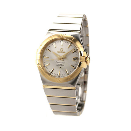 [ IWS ] Omega watches Omega Constellation watch male mechanical watch 123.20.35.20.02.002