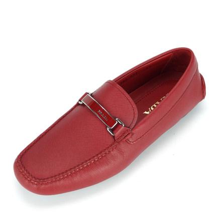 prada red shoes for men