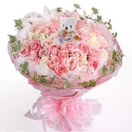 Girlfriend Lover Anniversary Changping , Beijing Chaoyang city of Tieling flower delivery florist delivery rose 99 blending