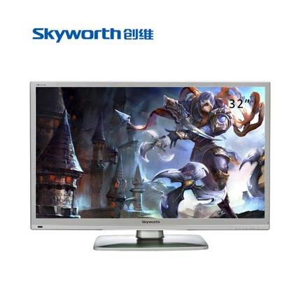 Skyworth / Skyworth 32E5CHR 32 -inch LCD TV LED 32 -inch ultra-thin USB playback TV
