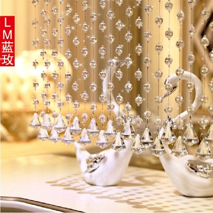 Buy Lanmei Crystal Bead Curtain Finished Off The Living