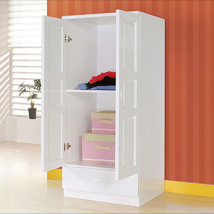 Love The One Thousand 101 Childrenu0027s Wardrobe Wood Wardrobe Simple IKEA Wardrobe  Closet Two Small Pine