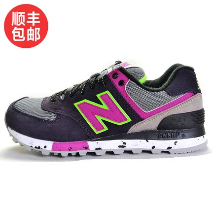 fb30795fa9ab Get Quotations · New Balance shoes New Balance running shoes women shoes  2014 NB WL574OPP   BP   OBD