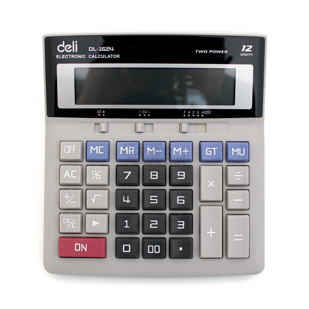 Калькулятор Deli  1624