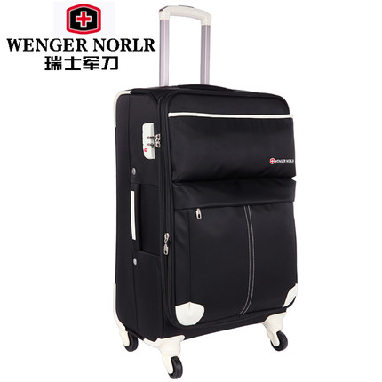 5180e4a7219 Swiss Army Knife WENGER NOBLR Trolley Wheels business men and women suitcase  luggage board chassis