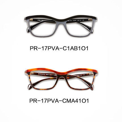 712732fc28 Prada Prada glasses male and female models retro full frame myopia glasses  frames authentic Taiwan 17PVA