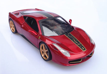Buy Free Shipping Authentic Hot Wheels Elite Ferrari 458 Chinese Dragon 1 18 Alloy Car Model Red In Cheap Price On Alibaba Com