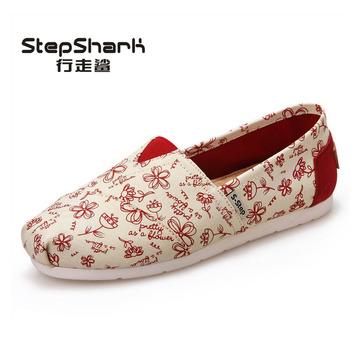 一脚蹬懒人鞋 帆布鞋