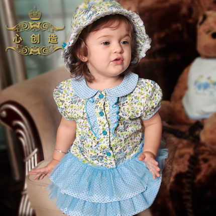 Buy 1 2 Years Old Baby Girl Summer Dress Princess Dress 0