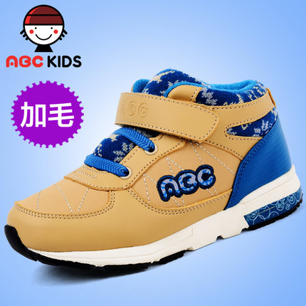 ABC children's shoes men 's shoes new autumn and winter 2014 autumn and winter models of child models genuine big padded shoes sneakers