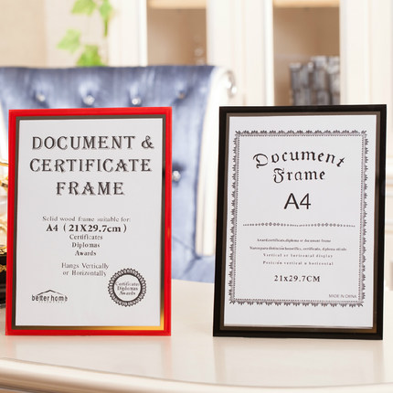 creative crystal glass frames swing sets a4 certificate documents inch inch frame children photo frame