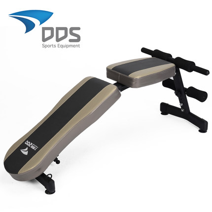 168253b9f6a Get Quotations · Duo Deshi dumbbell bench crunches genuine home fitness  equipment multifunction supine boards closed abdominal exercise chair