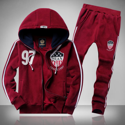 Kids boys two-piece long-sleeved sweater suit 8-9-10-11-12-13-14-15-16-17 -year-old child