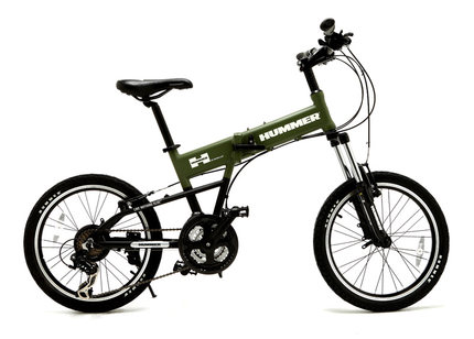 Series 13 models HUMMER paratroopers defended car Hummer Hummer folding mountain bike 20 inch small PT-2011F